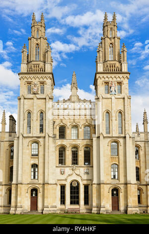 All Souls College, Oxford, England, United Kingdom - Stock Image