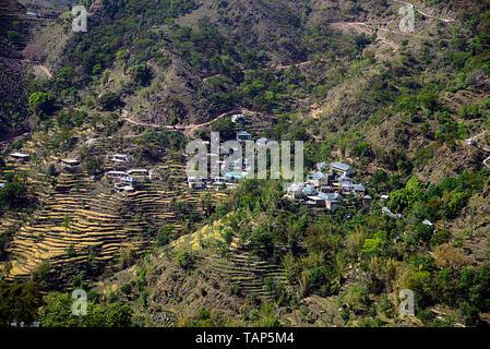 Himachal Pradesh  view - Stock Image