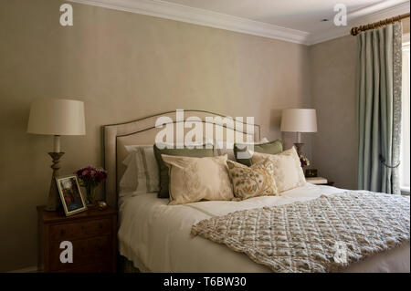 Georgian style bedroom - Stock Image