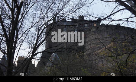 Edinburgh Castle - Stock Image
