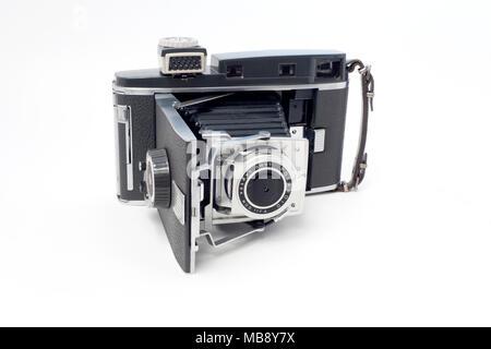 Polaroid Instant Film Land Camera, Model 110A - Stock Image