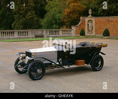 1914 Rolls Royce Silver Ghost Tourer Alpine Eagle - Stock Image