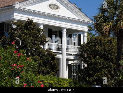 Building facade Charleston, South Carolina - Stock Image