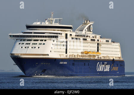 Cruise ferry Color Fantasy - Stock Image