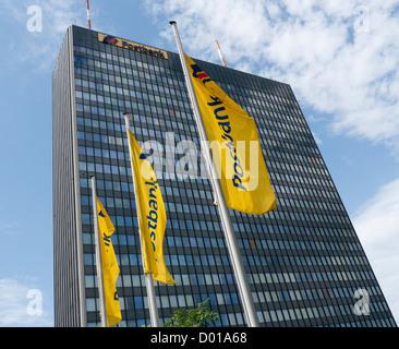 Postbank building in Berlin Germany - Stock Image