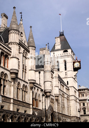 Royal Courts of Justice Strand London - Stock Image