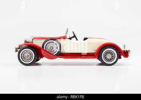 Matchbox Models of Yesteryear Y-14 Stutz Bearcat Roadster 1931 - Stock Image