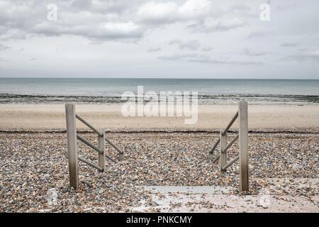 Minnis Bay, Kent, UK - Stock Image