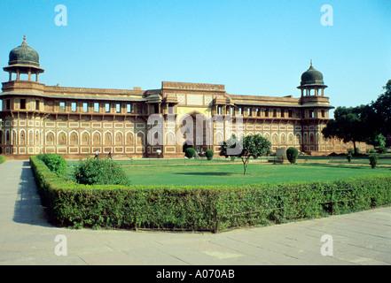 Jahangiri Mahal, Agra Fort, Rajasthan, India - Stock Image