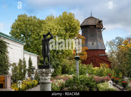 Djurgarden, Stockholm, Sweden. Gardens and parkland part of former Prince Eugen's home. - Stock Image
