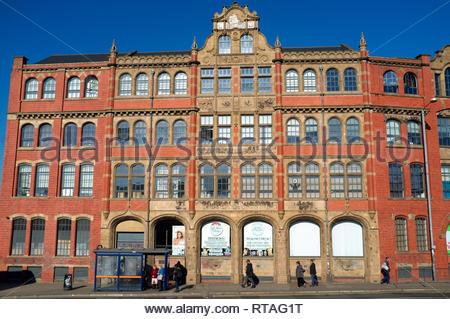 Devonshire Works (former Bird's custard factory), in Digbeth, central Birmingham, West Midlands, UK. - Stock Image