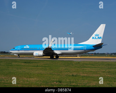PH-BXC KLM Royal Dutch Airlines Boeing 737-8K2(WL) - cn 29133 3 - Stock Image