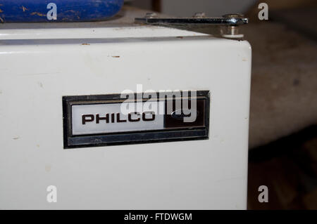 philco freezer, ford freezer, old - Stock Image