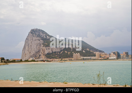 Rock of Gibraltar - Stock Image