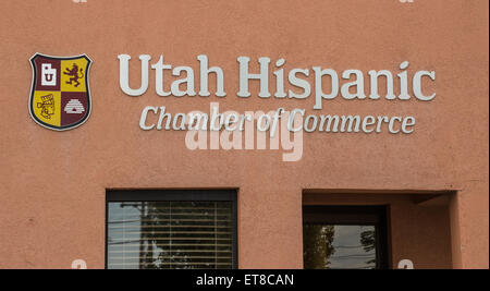 Utah Hispanic Chamber of Commerce - Stock Image