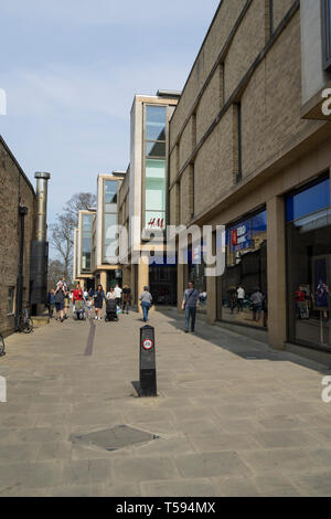 Christs Lane Cambridge 2019 - Stock Image