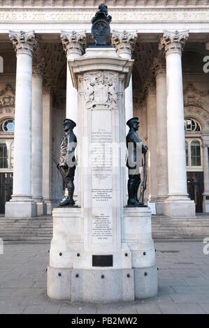 London Troops War Memorial, United Kingdom - Stock Image