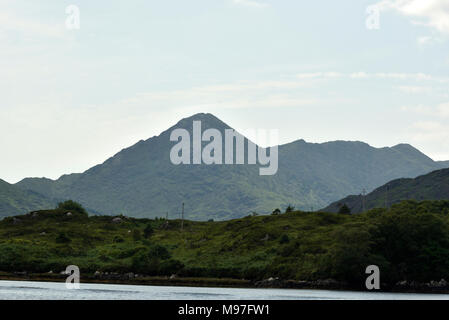 Sugarloaf Mountain, Glengarriff, West Cork - Stock Image