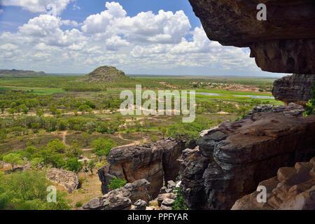 Stunning View from Anjalak Hill, near Gunbalanya over Arnhem Land, Northern Territory, Australia - Stock Image