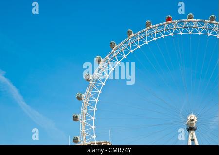 London Eye, Ferris Wheel,  London, U.K. - Stock Image