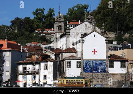 Church of the Holy Body, Massarelos near Oporto, Portugal - Stock Image