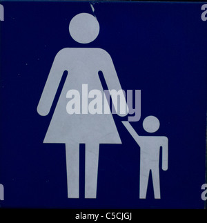 Parenting,sign - Stock Image