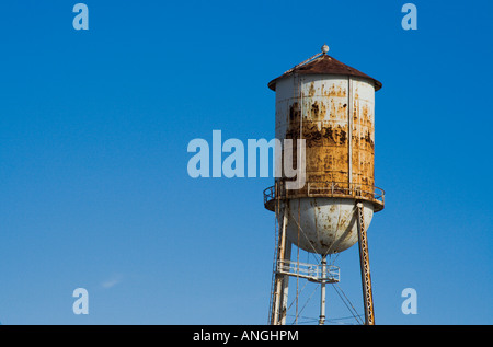 water tower in the Lower Ninth 9th New Orleans Louisiana - Stock Image