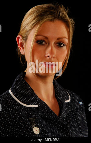 Staff nurse   Ref: CRB425_10046_098  Compulsory Credit: Synercomm/Photoshot - Stock Image