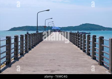 Rawai Pier, Hat Rawai, Rawai beach, Rawai, Phuket island, Thailand - Stock Image