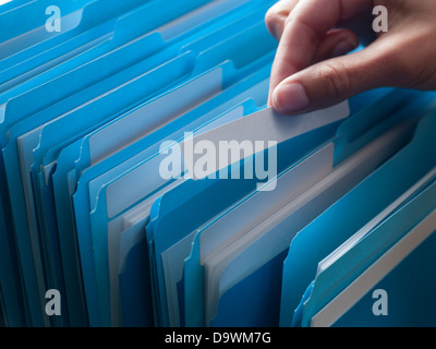 filling cabinet - Stock Image