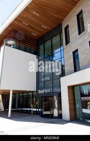 Advanced Technology Centre at Bradford College, Bradford, West Yorkshire - Stock Image