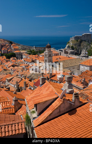 Dubrovnik Old Town, Dalmatia, Croatia - Stock Image