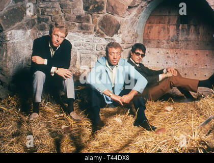 THE PEDDLERS Promotional photo of British jazz/soul trio about 1966. - Stock Image
