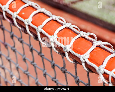 Nylon net close up and detail . selective focus - Stock Image