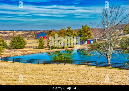Kentucky landscape - Stock Image