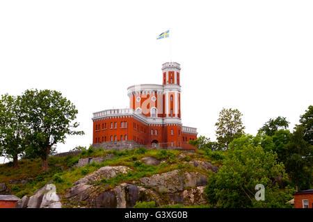 Castle on Kastellholmen - Stock Image