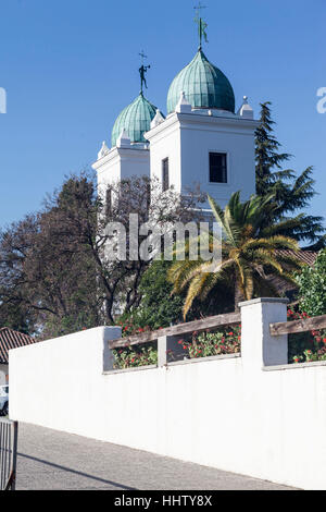Los Domenicos Church Santiago do Chile - Stock Image