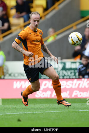 Wolverhampton Wanderers footballer Leigh Griffiths in action 2013 - Stock Image