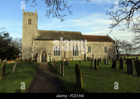 St Peter's Church, Lingwood, Norfolk - Stock Image