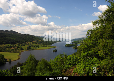 Queen's View, Loch Tummel, Perthshire - Stock Image