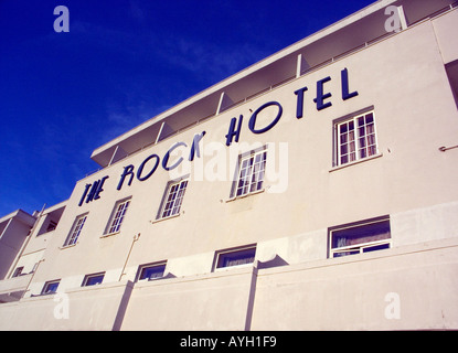 The Rock Hotel, Gibraltar, Europe - Stock Image