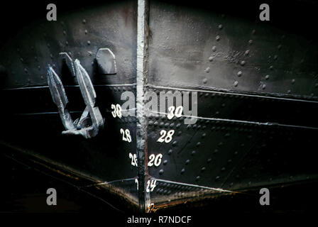 Ship Bow - Stock Image