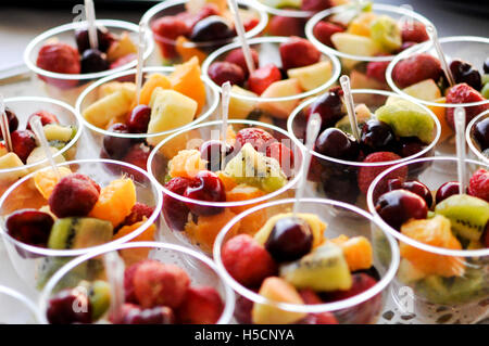 Catering fruit food - Stock Image