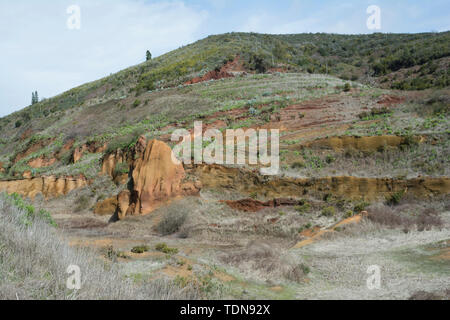 hillscape, Tenerife, Canary Islands, Atlantic, Spain - Stock Image