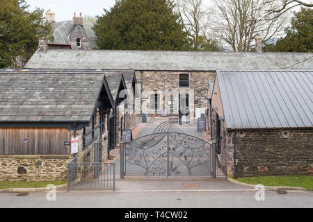 The Lakes Distillery, Bassenthwaite, Cumbria, England, UK - Stock Image
