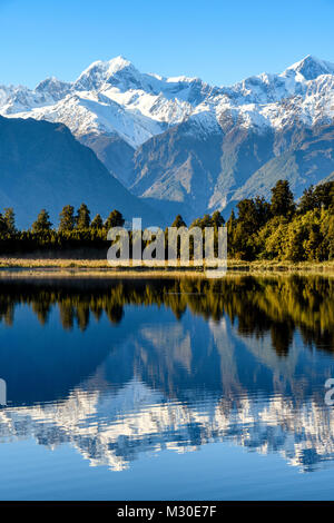 Reflections in Lake - Stock Image