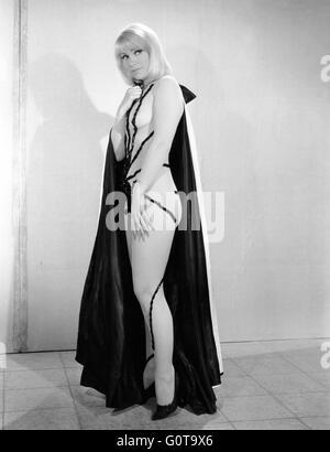 Estella Blain / The Diabolical Dr. Z / 1966 directed by Jesús Franco  (Spéva Films/ Ciné-Alliance - Stock Image