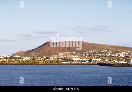 Coastal  Landscape, Lanzarote, Canary Islands - Stock Image
