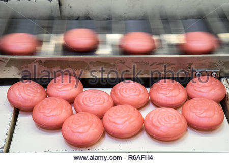 Production Of Soap - Stock Image