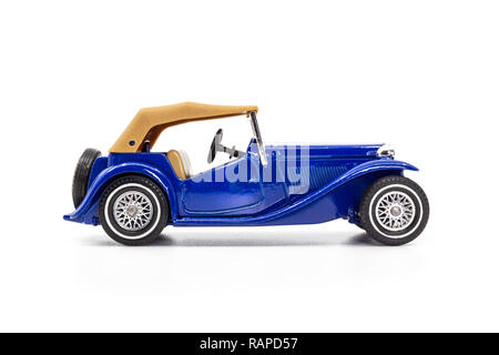 Matchbox Models of Yesteryear Y-8 MG TC 1945 - Stock Image